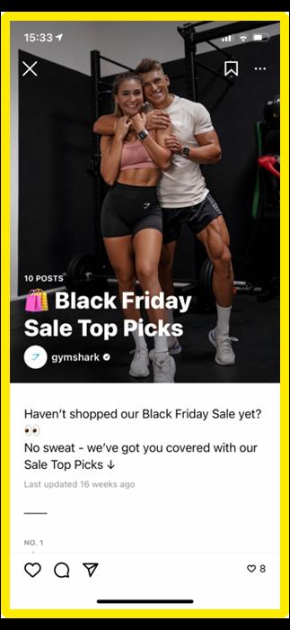 gymshark instagram guide